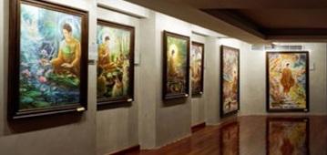 """เที่ยวชมพุทธศิลป์ที่ Buddha Art Gallery """"หอศิลป์พุทธะ"""""""